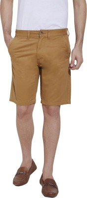 Urban Nomad By INMARK Solid Men's Beige Chino Shorts