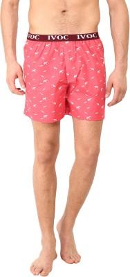 I-Voc Printed Men's Red, White Boxer Shorts