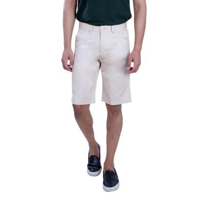 PECOS BILL Self Design Men's Beige Chino Shorts