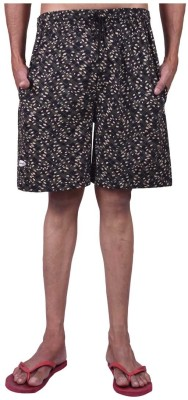 Genx Printed Men's Multicolor Basic Shorts