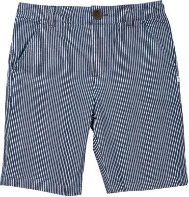 ShopperTree Striped Boy's Blue Basic Shorts