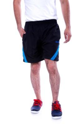 Choice4U Solid Men's Black Sports Shorts