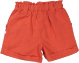 ShopperTree Short For Girls Cotton Linen...