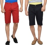 Clickroo Solid Men's Multicolor Chino Sh...