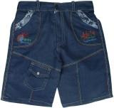 Kabeer Short For Boys Cotton Linen Blend...
