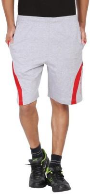 Greenwich Solid Men,s Multicolor Sports Shorts