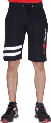 Ukf Mars One Printed Men's Black Basic Shorts