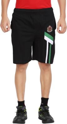 Moonwalker Solid Men's Black Basic Shorts