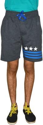Gen Solid Men's Grey Running Shorts