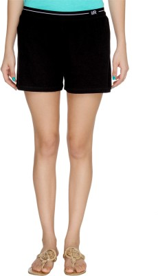 Karishma Solid Women's Black Basic Shorts