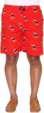 Ramarrow Printed Men's Red Bermuda Short...