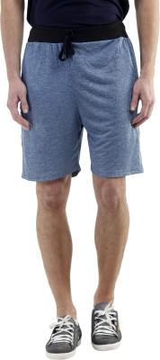 Meebaw Solid Men,s Dark Blue, Dark Blue, Grey, Grey, Grey Gym Shorts