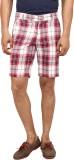 Yuvi Checkered Men's Multicolor Bermuda ...