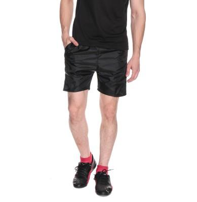 Fizzaro Solid Men's Reversible Black Boxer Shorts
