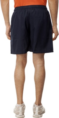 Gypsum Solid Men's Blue, Gold Sports Shorts