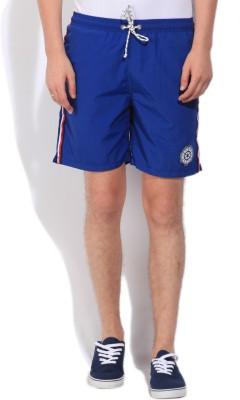 Gant Solid Men's Blue Basic Shorts