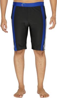 Dezire Solid Men's Black, Blue Swim Shorts