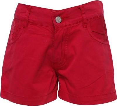 Joshua Tree Solid Girl's Pink Hotpants