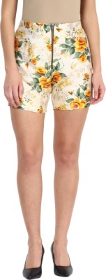 Miss Chase Floral Print Women's Multicolor Hotpants at flipkart
