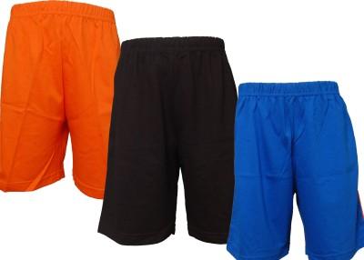 Little Stars Short For Boys(Multicolor, 3 - 4 Years, Pack of 3)