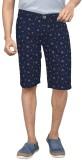 Clickroo Printed Men's Blue Chino Shorts