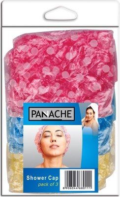 Panache Shower Cap Pack of 3