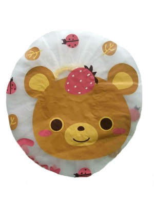 Adore Baby Shower Cap- Brown