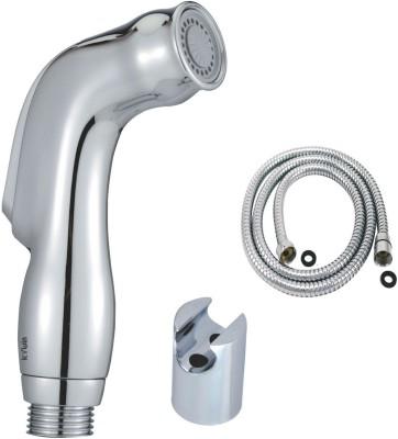Kywin ABS Dolphin Health Spray with Cylindrical Wall Hook & 100 Cms. Long FlexibleTube Hand Shower Head