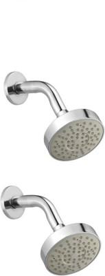 Jainuine Alfa Round shower Copmlete set of-2 Shower Head