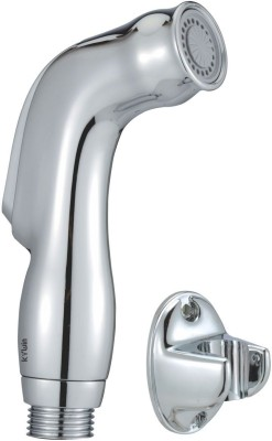 Kywin ABS Dolphin Health Spray With Oval Wall Hook Only Hand Shower Head