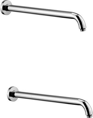 Jainuine Alfa 12 inch Round Shower Arm - Set of -2 Shower Head