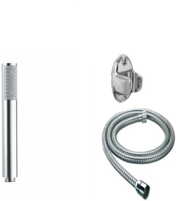 Jainuine Royal Square Hand Shower with Tube n Stand Shower Head