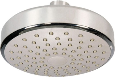 Sunrise White Base Oval 5inches Shower Head