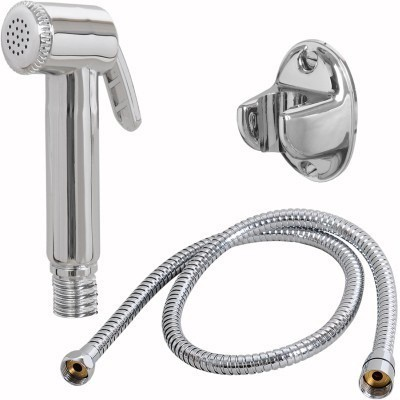 Sunrise Health Faucet Complete Set with 1mtr S.S. Flexible Hose Shower Head