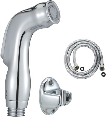 Kywin ABS Dolphin Health Faucet With Wall Hook & 100 Cms. FlexibleTube Hand Shower Head
