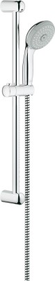 Grohe GROHE New Tempesta 100 shower rail set with hand shower (100 mm), shower rail (600 mm) and shower hose (1.750 mm), 3 spray patterns, 9.5 l/min Shower Head