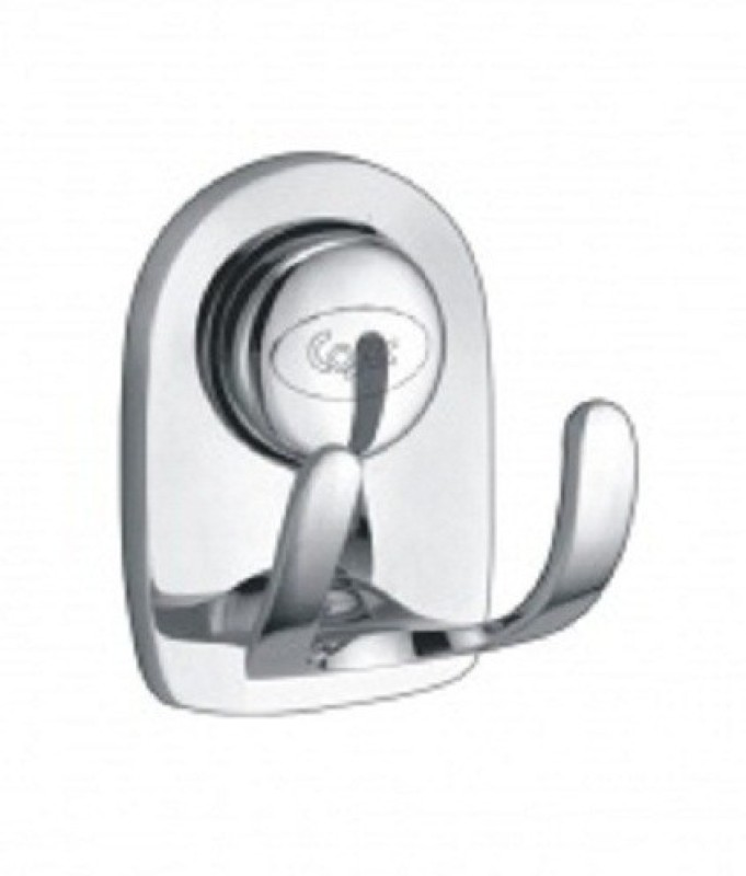 cosec Chrome Shower Rod Hook(Silver)