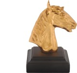 ANIMAL Horse head- Gold plated Showpiece...