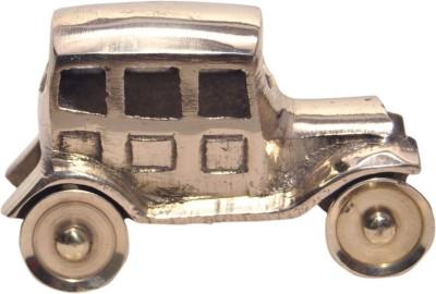 Arsalan Handcrafted Brass Antique Car 10 cm Showpiece  -  6 cm