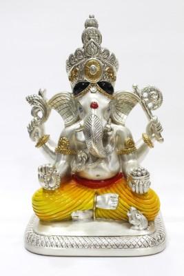 The Silver Lining Siddhivinayak Ganesha XL Showpiece  -  32.5 cm