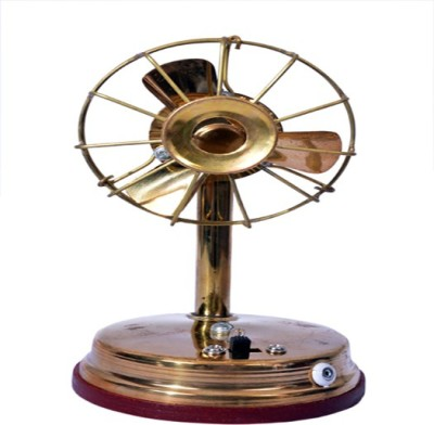 Craft Trade Brass Table Fan Showpiece     18 cm Brass, Gold  available at Flipkart for Rs.400