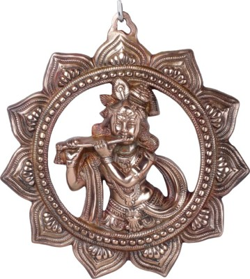 F Gear Chakkar Krishna Plate Showpiece  -  34 cm
