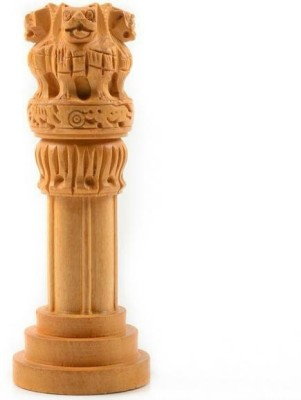 Divinecrafts Decorative Ashoka Pillar Showpiece  -  10.16 cm