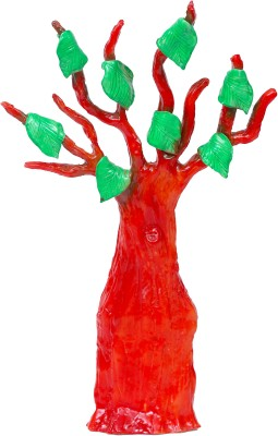 Eternity Bodhi Tree Showpiece  -  17.5 cm(Ceramic, Red)