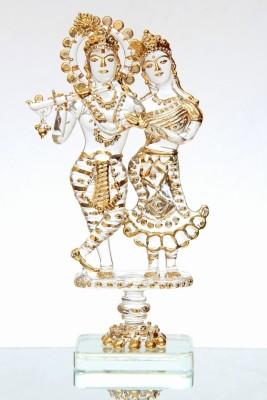 Sutra Decor Radha Krishna God Idol Showpiece  -  11 cm