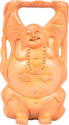 Kushala Karnataka Laughing Buddha Showpiece  -  15 cm
