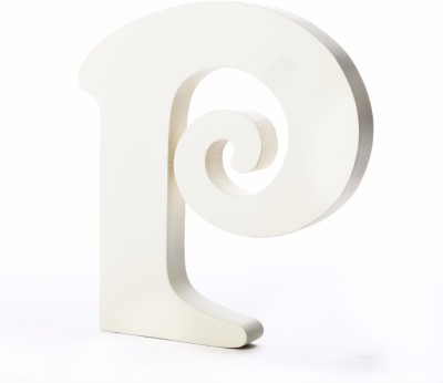 ShopperBay Alphabet P Showpiece  -  15.2 cm