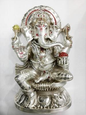 Eventz Gifts DM Ganesha Showpiece  -  23 cm