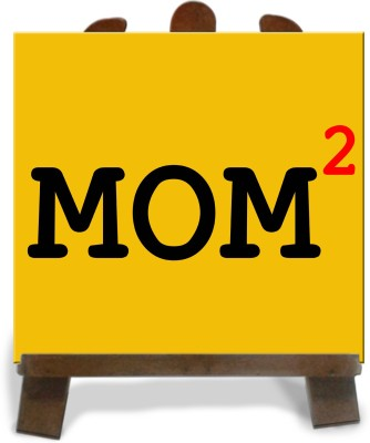 Tiedribbons Gifts For Square Mom Tile Showpiece  -  28 cm