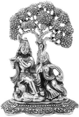 Traditional Rajasthan Radha Krishna Showpiece  -  16 cm